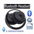 Bezdrátová stereo sluchátka s mikrofonem s69