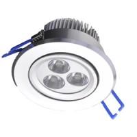 LED 3W do podhledu naklápěcí teplá bílá