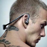 Sportovní bluetooth stereo sluchátka s mikrofonem S9 (černo-červená)