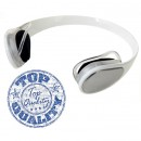 Bluetooth stereo headset BH-908 bílá barva provedení záhlavní