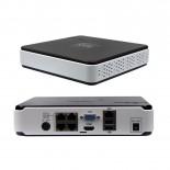 IP NVR OnVif nahrávací server pro 4 kamery FullHD POE